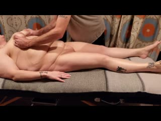 Mature fucked by massage family