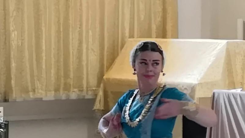 Индийский танец Соединение дживы с Параматмой Милана Северская