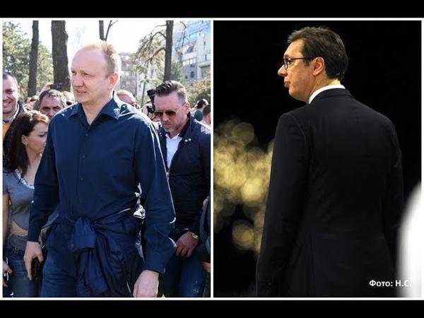 Đilas Vučiću Na šamar ne okrećemo drugi obraz, ali i ne ćemo ni da širimo mržnju u narodu