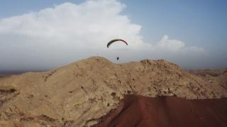 Paragliding at Jabal Faya, Sharjah