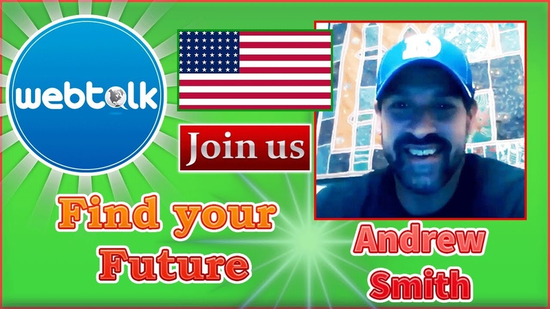 Andrew Smith Unlimited opportunity on Webtalk