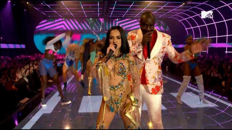 Akon 阿肯 Becky G 貝姬·G Como No MTV EMA 2019