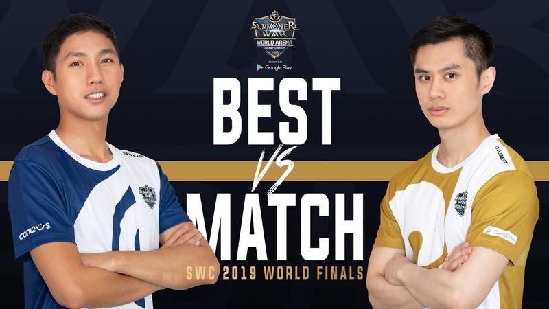 BEST MATCH of World Finals Baus vs Diligent Summoners War 서머너즈워