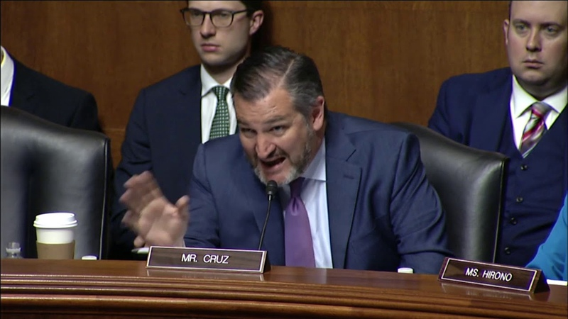 Sen. Cruz Grills Google Executive on Alleged Censorship Bias