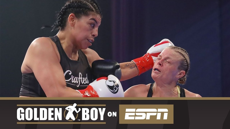 Golden Boy On ESPN Maricela Cornejo vs Samantha Pill (FULL FIGHT)