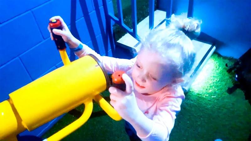 Indoor Playground for Kids💥Sashka promokashka💚 Play time for Family Kids Song الملعب الداخلي للأطفال