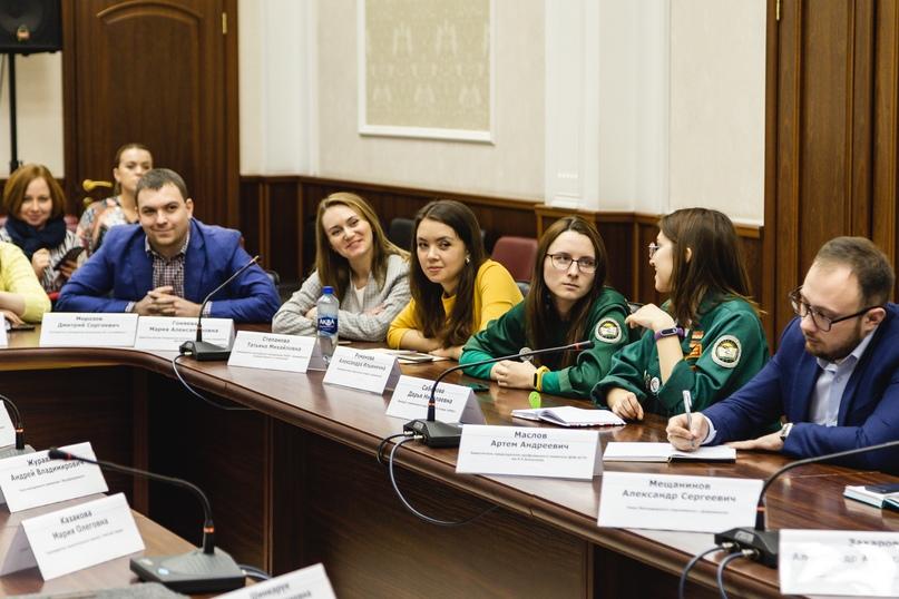 Глава города встретился с молодежными объединениями Дзержинска, изображение №3