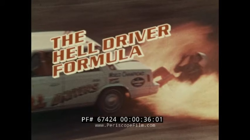 JACK KOCHMANS HELL DRIVERS 1980s CHRYSLER DODGE ARIES AUTO STUNT PROMO FILM 67424