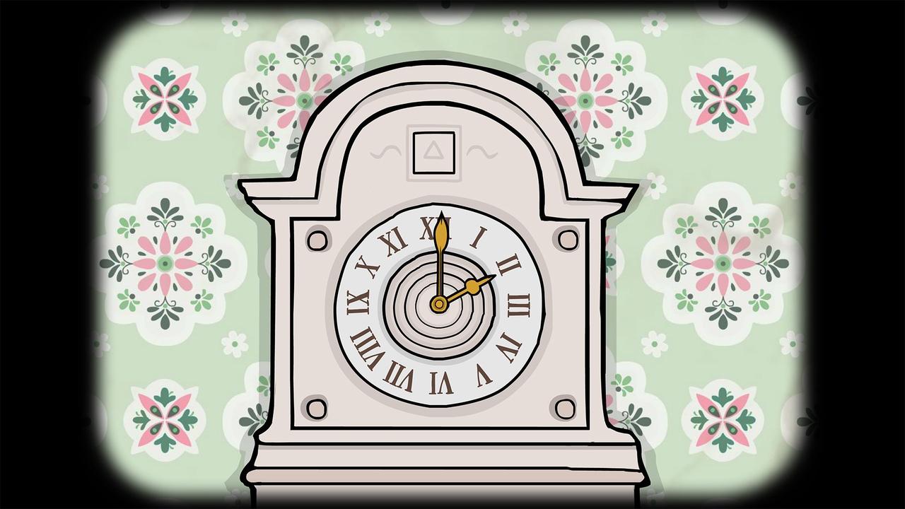 часы в Samsara Room