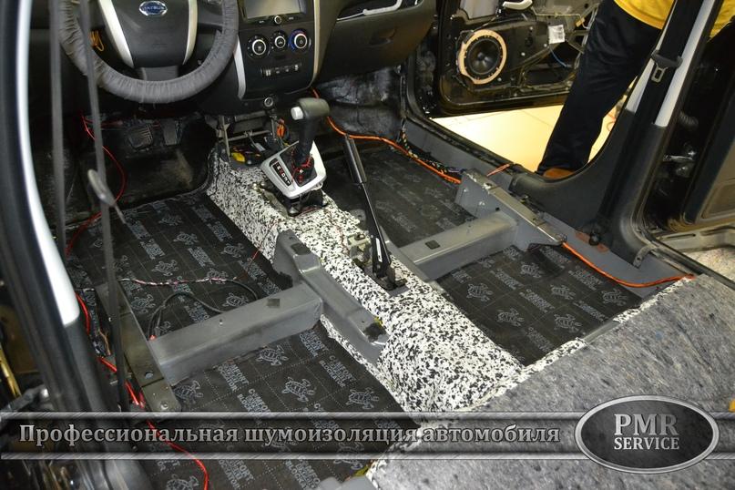 Шумоизоляция Datsun on-DO, изображение №12