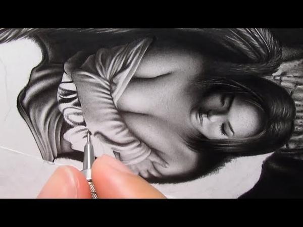 Desenho Realista em tempo real - pele e tecido
