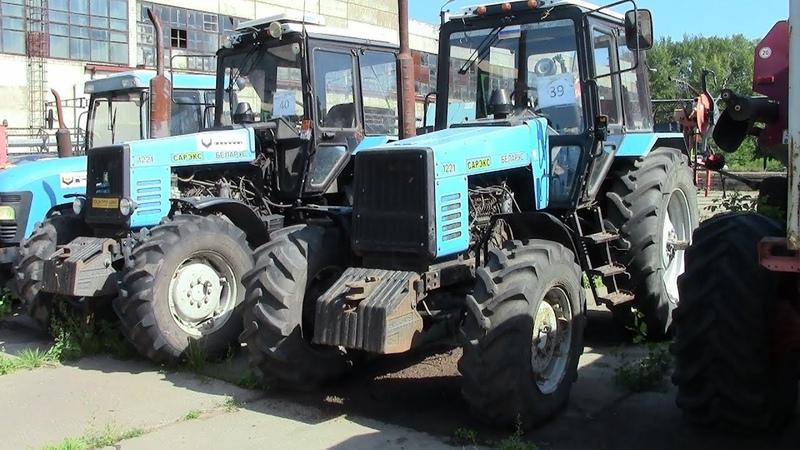 Б у тракторы МТЗ 1221 выживут или уйдут в чермет
