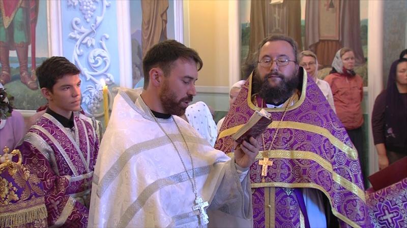 Митрополит Григорий освятил мёд и благословил верующих на Успенский пост