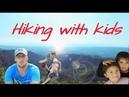 Hiking With Kids. Mt Puting Bato, Samal Philippines