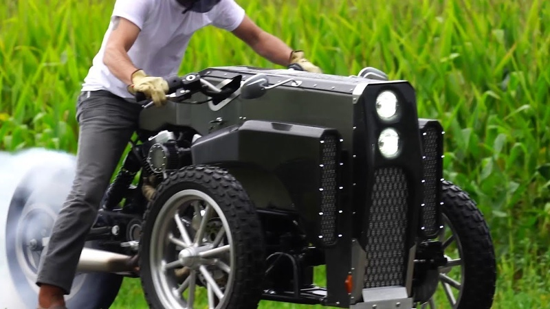 Big Motorcycles remaked on Reverse Trikes