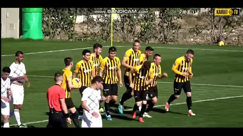 Rubin Kazan Kairat Almaty 2 3 Rade Dugalich goal