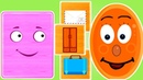 Геометрические фигуры для детей. ПРЯМОУГОЛЬНИК Развивающие мультики для детей 0-5 лет.