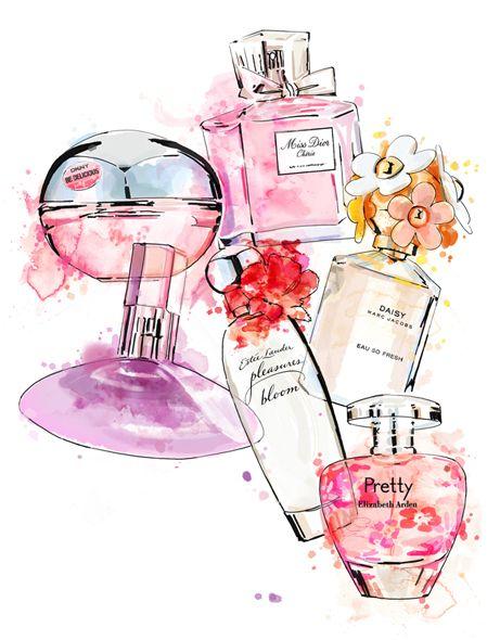 задумывались картинки косметики и парфюмерии для аватарки группы акварелью деревья, декоративные кустарники