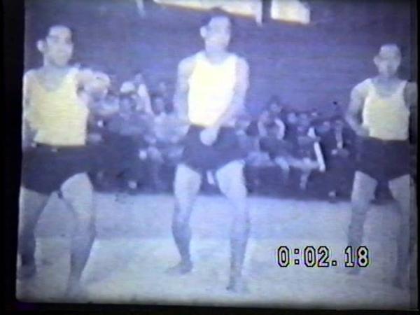 Apresentação Karate Ginásio Pacaembu 1951 Sensei Motoku Yabiku