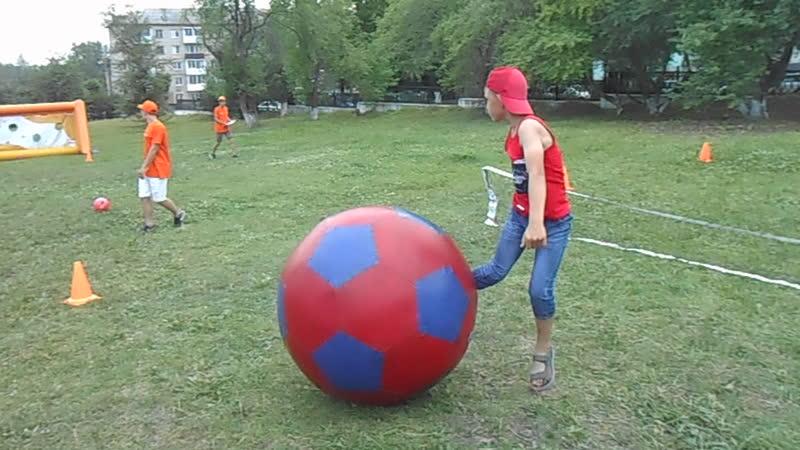 Мой весёлый звонкий мяч))
