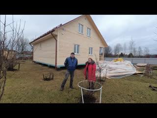 Отличный каркасный дом 9 на 10 метров. Отзыв заказчицы