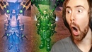 Asmongold EPIC Transmog Competition - ft. Corrupted Iron-Man And Aquaman!