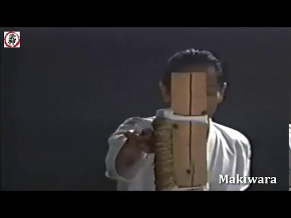 Tetsuhiko Asai karate Shotokan Makiwara Тетсухико Асаи работа на макиваре