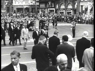 State Visit Of President Bourguiba To The Netherlands. (1967)