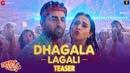Dhagala Lagali Song Teaser Dream Girl Riteish D Ayushmann Khurrana Nushrat Jyotica Mika