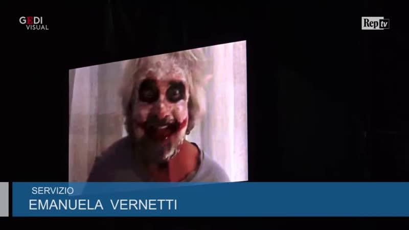 Grillo truccato da Joker striglia i militanti- Basta piangere sul PD, vaffancu_HIGH.mp4
