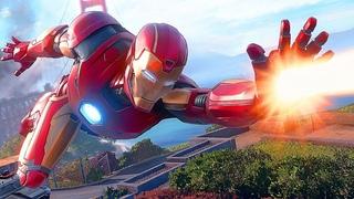 MARVEL Avengers Game Gameplay BOSS Fight Iron Man, Hulk, Captain America, Thor, Black Widow