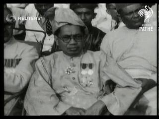 Anniversary parades in Malaya and North Korea (1946)