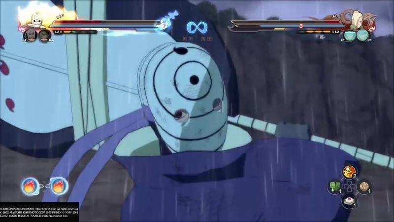 ناروتو شيبودن عاصفة النينجا النهائي 106 Naruto Shippuden Ultimate Nin