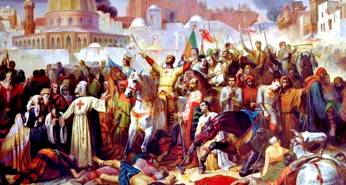 Рыцари в Иерусалиме