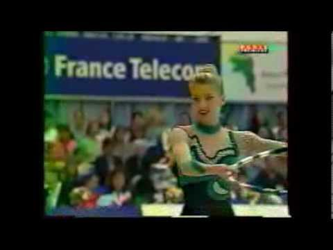 Monique STROBL (GER) hoop - 1999 Corbeil
