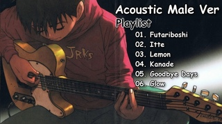 【Male】Acoustic Japanese Songs - For Relaxing & Sleeping | Collection #24
