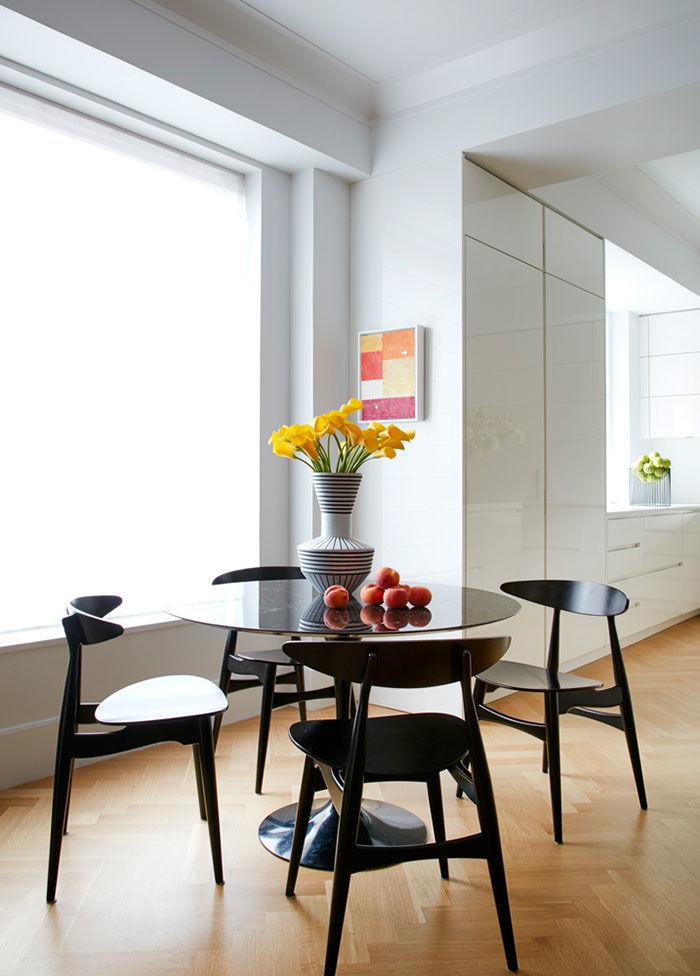 Натурально стильный интерьер апартаментов в Нью-Йорке || 02