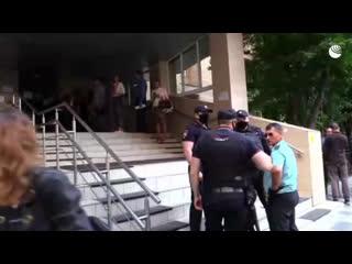 Заседание суда по делу Ефремова