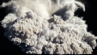 3ds Max Moutain Explosion PFlow and FumeFX Tutorial Pt. 3