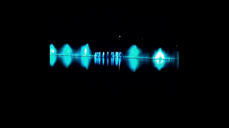 Шоу-музыкальных фонтанов оз.Абрау-Дюрсо Анапа