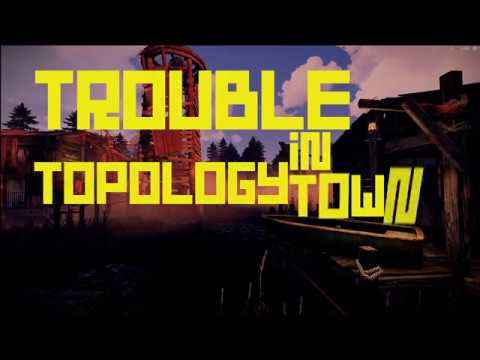 Rust | Custom Map Editing | Trouble In Topology Town Nodes