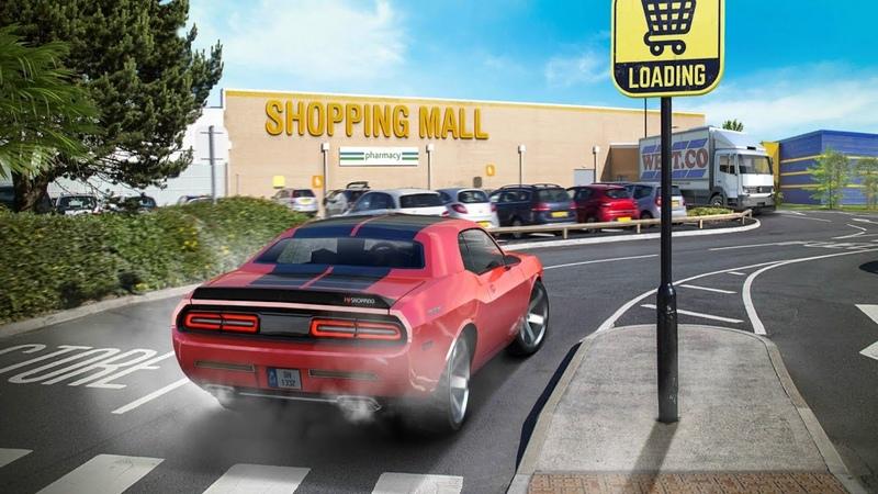 Shopping Mall Parking Lot первый взгляд
