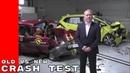 Full Version Old 1997 Rover 100 vs New 2015 Honda Jazz Crash Test