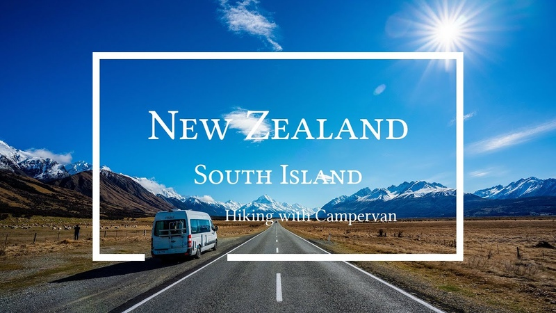 Cinematic Vlog Hiking in South Island New Zealand with Campervan