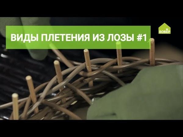 Базовые виды плетения из лозы. Часть 1