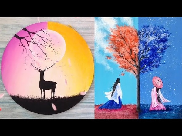 Nghệ thuật vẽ tranh đỉnh cao của họa sĩ Trung Quốc 05 ❤ Most Amazing Art Drawing Video ❤