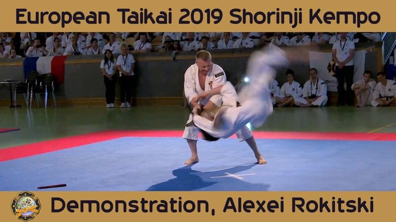 TAIKAI 2019   Shorinji Kempo Demonstration, Alexei Rokitski Alexander Semchenko. 少林寺拳法.