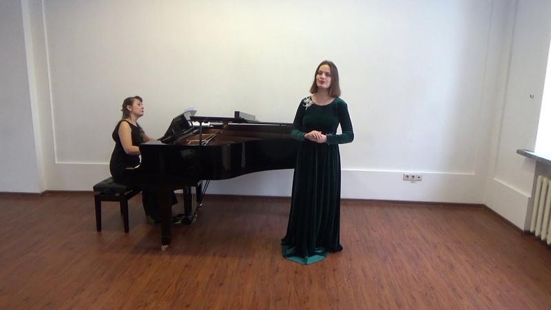 Bach Bist du bei mir Anastasia Popova