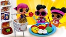 Игры для девочек – Вкусняшки для Кукол ЛОЛ! Лепим из пластилина Плей До! – Видео для детей.