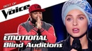 TOP 10 MOST EMOTIONAL Blind Auditions in The Voice that made the Coaches cry
